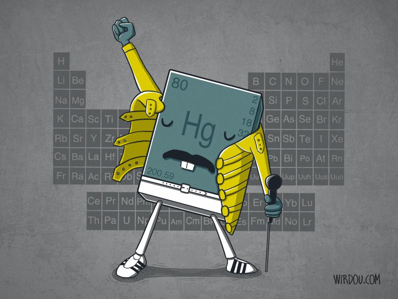 fun, funny, t-shirt, gracioso, divertido, camiseta, freddie mercury, chemistry, química, elementos químicos, chemical elements, periodic table, tabla periódica, música, music, science, ciencia