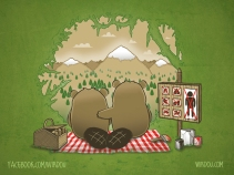 science, fun, funny, curious, desig, drawing, illustration, scientist, chemistry, biology, cute, ciencia, environment, beaver, castor