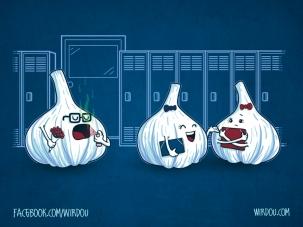 science, fun, funny, curious, desig, drawing, illustration, scientist, chemistry, biology, cute, ciencia, garlic, ajo, divertido, gracioso