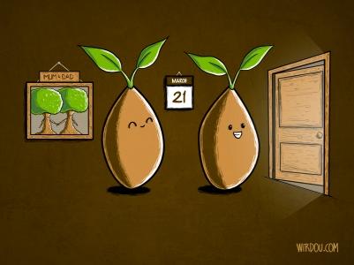 fun, funny, t-shirt, gracioso, divertido, camiseta, spring, primavera, seeds, semillas, plants, plantas, marzo, march, cute