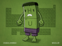 science, fun, funny, curious, desig, drawing, illustration, scientist, chemistry, biology, cute, ciencia, hulk, divertido, avengers, vengadores