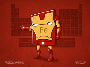 science, fun, funny, curious, desig, drawing, illustration, scientist, chemistry, biology, cute, iron man, avengers, vengadores, ciencia, divertido, química, hierro
