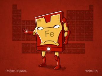 science, fun, funny, curious, desig, drawing, illustration, scientist, chemistry, biology, cute, iron man, avengers, vengadores, ciencia, divertido, química, hierro
