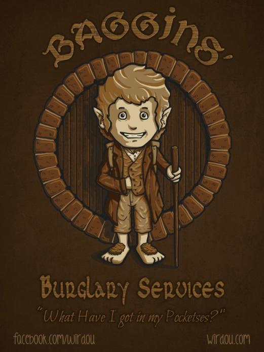 Bilbo Baggins Burglary Services
