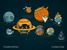 science, fun, funny, curious, desig, drawing, illustration, scientist, chemistry, biology, cute, ciencia, espacio, universe, space, universo, divertido, planetas, planets, gracioso, astronomy