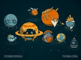 science, fun, funny, curious, desig, drawing, illustration, scientist, chemistry, biology, cute, ciencia, espacio, universe, space, universo, divertido, planetas, planets, gracioso, astronomy