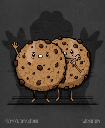 trapped cookies