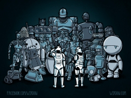 These aren't the droids we are looking for