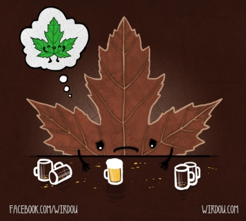 science, fun, funny, curious, desig, drawing, illustration, scientist, chemistry, biology, cute, ciencia, gracioso, divertido, científico, otoño, autumn, hoja, leaf