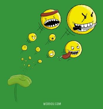ciencia, humor, divertido, gracioso, science, fun, funny, polen, pollen, alergia, allergy, granos, plantas, flor, plants, flower