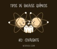 ciencia, humor, divertido, gracioso, enlaces, química, iónico, covalente, metálico, electrones, átomos, moléculas