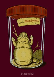 Especie, desconocida, jabba, star wars, ciencia, humor, divertido, gracioso, biología, bicho