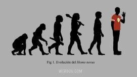 ciencia, humor, divertido, gracioso, evolución, big bang theory, sheldon cooper, homo sapiens, homo novus, darwin