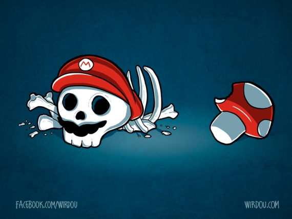 science, fun, funny, curious, desig, drawing, illustration, scientist, chemistry, biology, cute, ciencia, mario bros, gracioso, divertido, amanita, seta