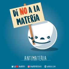antimateria español para web