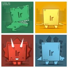Web Iridium dinosaurios